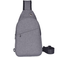 Male Single Shoulder Bag Cross Chest Pack Small Sling Bag Wa...