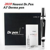 自動マイクロニードルシステム電気薄暗いDermaroller Derma Pen Care Micro Needle Dr.Pen Ultima A7