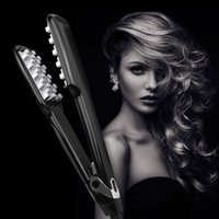 Volumizing Iron Fast Ceramic StraighteningSaprex Hair Brush Volumizing Iron für feine, lange, kurze Haare