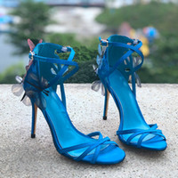 2019 Hot Selling Fashion Thin High Heel Stiletto Ankle Strap...