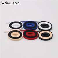 Weiou 170cm Cool Fantastic 2 Tone Flat Lacci personalizzati Personalizzazione Regalo Lacci per scarpe Supporto Drop Shipping