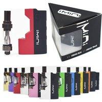 Original IMINI Box Mod Vape Kits E-Zigaretten Vape Pen Vaporizer 0.5ML 1.0ML 510 Cartridge 500mAh Akku Vape Mods Starter Kits