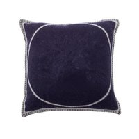 Wool cushion cover 45x45cm without pillow case cover three colors good quality