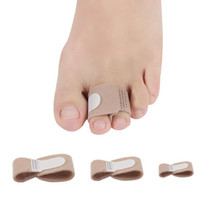 Stoff Toe Finger Strecker Hammer Toe Hallux Valgus Corrector Bandage Toe Separator Splint Wrap Fuß Stretcher Pflege Werkzeug F3609