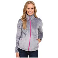 2019 Fleece Osito suaves chaquetas de lana abrigos marca de moda casual de las nuevas mujeres de invierno para hombre abajo de esquí de caparazón blando niños señoras de la alta calidad del Norte