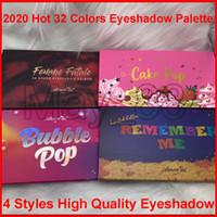 2020 Yeni Amorus Uzun Ton Su geçirmez Eyeshadow Kalıcı Me CoCo Bubble Pop 32Color Göz Farı Paleti Glitter Mat Göz Farı Makyaj hatırla