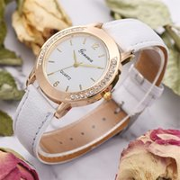 watch women gold and silver Temperament Classic Leather Ladi...