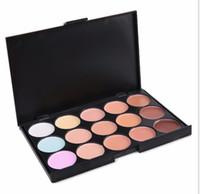 Chirstmas Verkauf 15 Farben Concealer Beruf Make-up Gesicht Schönheit Creme Maquiagens Haut Concealer Palette Kosmetik Großhandel Dropshipping