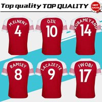 2019 #10 OZIL home red Soccer Jersey 18 19 MKHIARYAN short s...