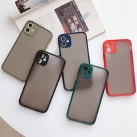 Skin Frindly Camera Protection Frosted Matte Hybrid TPU PC C...