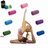 7 Farben Yoga-Matte Handtuch Blanket Non-Slip Mikrofaser Oberfläche mit Silikon-Dots Hohe Feuchtigkeit, schnelltrocknende Teppiche Yoga-Matten CCA11711 50pcs