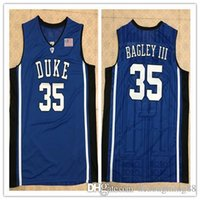 85dd382ec New Arrival.  35 Bagley III Marvin Duke Blue Devils Men s Embroidery Stitched  Basketball Jersey Custom ...