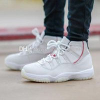 High quality Men 11 Platinum Tint Basketball Shoes XI 11s High Concord 45 Sneakers Men Women Sport shoes Sneakers 36-47