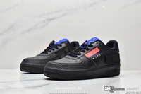 2019 nuove donne degli uomini Low Cut One 1 n.354 Casual Shoes Bianco Nero dunk Sport Skateboard scarpe classiche AF Fly formatori alta Knit Sneakers