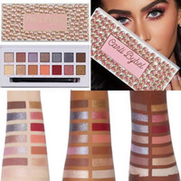 New Limited Edition Eye Shadow Palette 14Colors Матовый Shimmer Eyeshadow Продолжительный Eye Shadow Carli Bybel состава Eyeshadow Новое прибытие