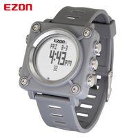 이지 온 L012 높은 품질 패션 캐주얼 스포츠 디지털 시계 야외 스포츠 어린이를위한 방수 나침반 스톱워치 손목 시계