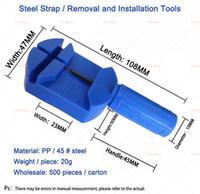 Outils de réparation Kits 2021 Outil de réglage de la sangle en acier inoxydable Montre à boulons durable Lien de commande VIP Personnalisation