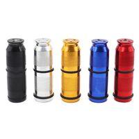 Neueste bunte Aluminiumlegierung Flaschenöffner Pollen Presse Sahne- und Schaum zylindrische Form Dispenser Innovatives Design Tragbarer Rauchen Werkzeug
