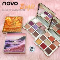 NOVO Quicksand Eyeshadow Palette 9/12 Colori Matte Shimmer EyeShadow Glitter Eye Shadow con set di pennelli Nude MakeUp Set Nuovo arrivo