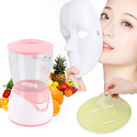 Nuovo frutto maschera macchina Maschera Maker Machine facciale di verdure trattamento fai da te automatico di frutta naturali Collagene di uso della casa di cura di bellezza SPA