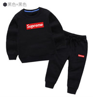 New classic Baby Suit Brand Tracksuits Hooded sweater suit C...