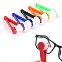 Sun-Glas-Brille Mikrofaser Pinselreiniger Neuer Zufall Sendet Augenglas-Sonnenbrille Objektiv-Reinigungstücher Reiniger LX9182