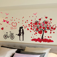 Marriage room wall stickers room wall decor Valentine love t...