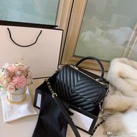 뜨거운 판매 디자이너 명품 어깨 가방 여성 크로스 바디 백 고품질 진짜 가죽 캐주얼 야생 쇼핑 패션 두 가지 색상 여자