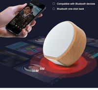 A60 Portable Wooden Bluetooth Speaker Mini Wireless Subwoofe...