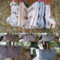 22 pulgadas para mujer bolsas de viaje Weekender de asas para las mujeres deportistas gimnasio de entrenamiento de lona bolsa de equipaje LJJK2214