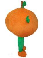 Halloween Big Baby orange-Maskottchen-Kostüm-Qualitäts-Tangerinefrucht Cartoon Anime Thema Charakter Weihnachten Karneval Partei-Abend Kostüme