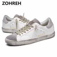ZOHREH casual shoes Italy Golden Genuine Leather Casual wome...