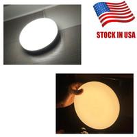 울트라 씬 LED 천장 조명 18W 3000K 5000K 2100LM 현대 주도 천장은 거실 표면이 주도 탑재 된 천장 조명 램프