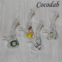 New 10mm Female Mini Glass Bong Water Pipes Pyrex Oil Rigs G...