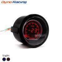 Sensör TT101031 ile 52mm 2 İnç Araba EVO Dijital Turbo Boost Ölçer Psi Mavi / Kırmızı LCD Turbo Boost Ölçer