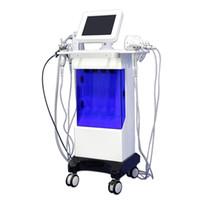Oxygen Jet Hydra Facciale Pelle Macchina per la cura della pelle Hydra Dermabrasion Diamond Spray Gun Bio Attrezzature per ultrasuoni Bio