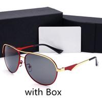 Hommes Lunettes de soleil d'été Plage en verre pour Hommes Homme Adumbral Lunettes UV400 avec boîte haute qualité 4 couleurs
