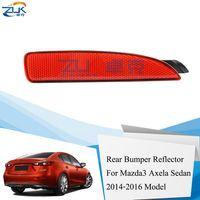 ZUK links / rechts Heckstoßstange Nebelscheinwerfer Nebelscheinwerfer Reflektor für Mazda 3 Axela Sedan 2014 2015 2016 OEM: BKC3-51-5M0F BKC3-51-5L0F