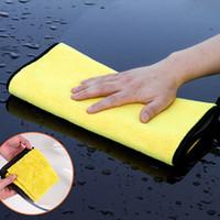 Lavado de coches Toalla de microfibra Limpieza de la limpieza de tela de secado Cuidado de Hemming Paño Detalle de la toalla de lavado de autos para Toyota Lada Honda ECT. Accesorios de lavado
