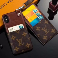 Luxury Phone Case Square Lattice Leather Wallet Phone Cases ...