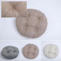 Cojín de asiento redonda Yoga Mat Pad Mat piso futón Para Patio Inicio Alquiler Oficina tatami almohada suave meditación 40cm