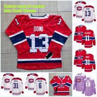 13 Max Domi Montreal Canadiens Jersey 31 Carey Price 6 Shea Weber 11 Brendan Gallagher 92 camisetas de hockey Jonathan Drouin 37 Keith Kinkaid