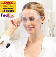 DHL In Stock Double- sided Anti- fog Anti- Oil Splash Clear Fac...