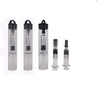 1 мл Pyrex Glass Vape шприц Co2 толстый масляный шприц инжектор для 92a3 AC1003 A9 Vape тележки пластиковая упаковка трубки