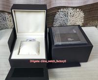 Venda quente de Alta Qualidade Tag Watch Box Original Papers Cartão Bolsa de Couro Assista Jóias Caixas de Jóias para Caliber 17RS 36RS Cronógrafo Relógios
