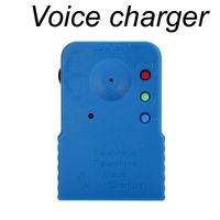 Бесплатная доставка DP03 портативный беспроводной мини 8 мульти Изменитель голоса микрофон синий телефон портативный Аудио Видео микрофон