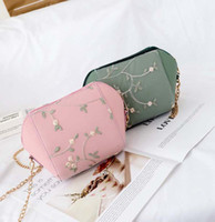 50pcs Cross body Bag Women Lace Floral Pu Min Flap Zipper Ch...
