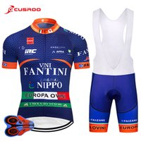 Uci 2018 Vini Cycling Team Jersey 9d Gel Pad Bike Shorts Rop...