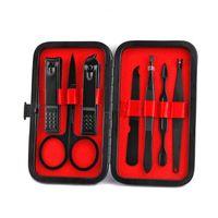 Neue Nagel Werkzeug Professionelle Edelstahl Nagelknipser Schere Anzug Set Kits Maniküre Werkzeug Schnelles Verschiffen F2483
