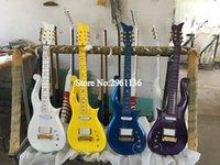 Multi Color disponível na série de diamante Stock Príncipe Nuvem da guitarra elétrica Alder corpo, o Maple Neck, Amor Símbolo do embutimento, envoltório Arround Tailpiece